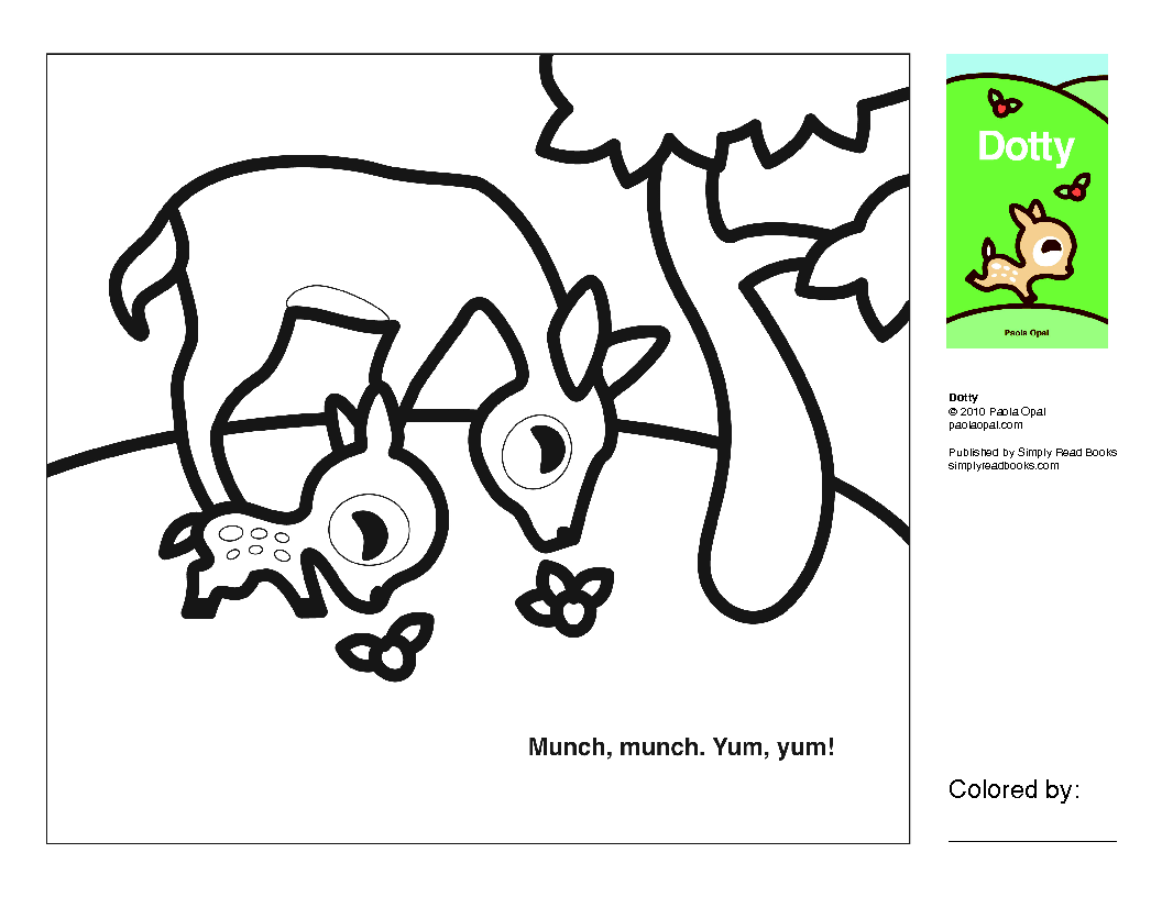 Simply Small coloring pages